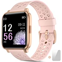 Smartwatch, Reloj Inteligente Mujer Impermeable IP68 con Pulsómetro,…