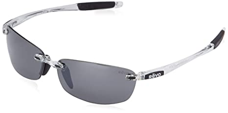 c4894a7ae8c7 Revo Descend E RE 4060 09 GY Polarized Rimless Sunglasses