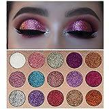 Beauty Glzaed 15 Colors Glitter Make-up Powder...