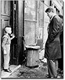 Robert F. Kennedy with Child, Brooklyn 1966 8x10 Silver Halide Photo Print