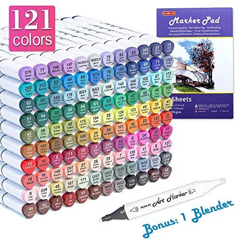 121 Colors Dual Tip