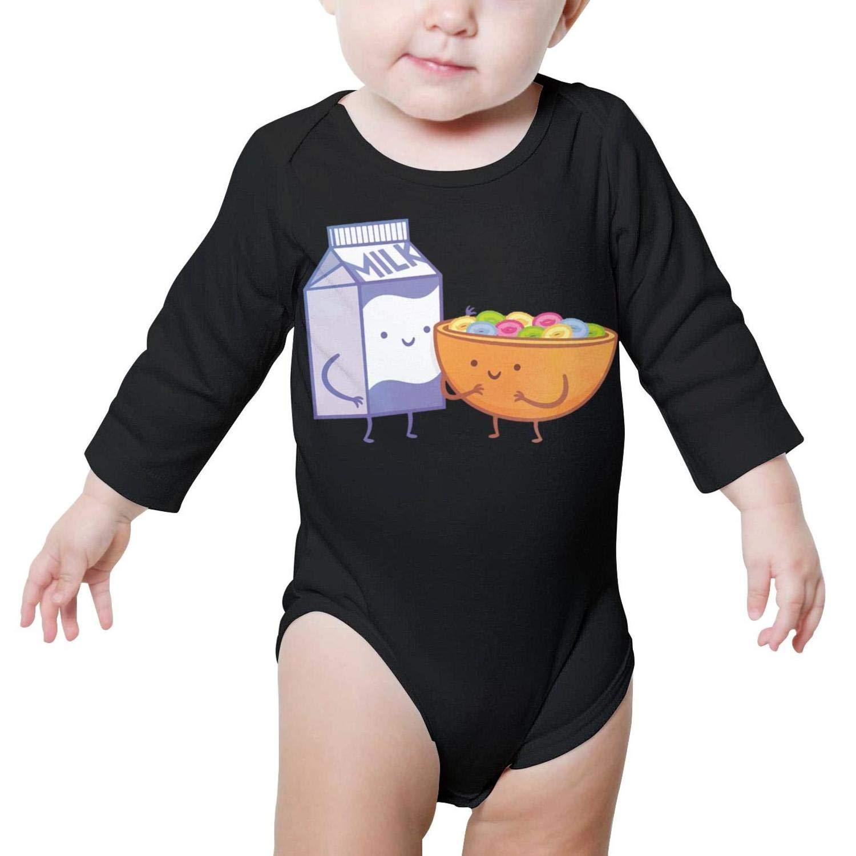 PoPBelle Happy Best Friend Day Baby Onesies Bodysuit Long Sleeve Organic Cotton Soft