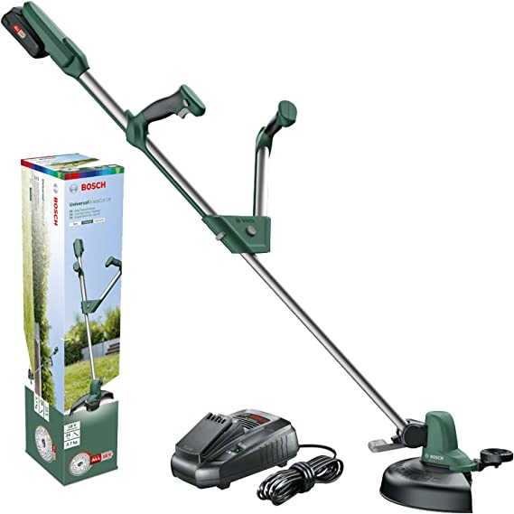 Cortaborde de Bateria litio 18V 2 Ah Bosch Home and Garden