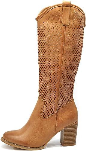 Amazon.it: Stivali Donna Estivi 36 Stivali Scarpe da