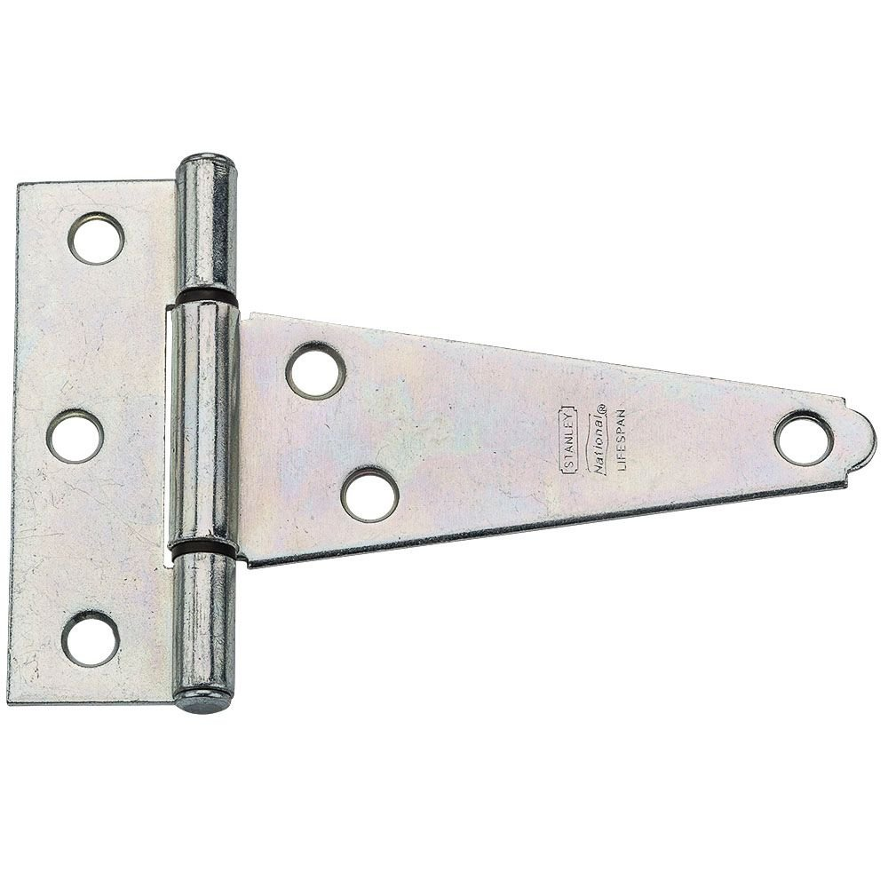 B000CSN2VO National Hardware N129-031 V286 Extra Heavy T Hinges in Zinc plated, 2 pack 61I3TZfUzIL