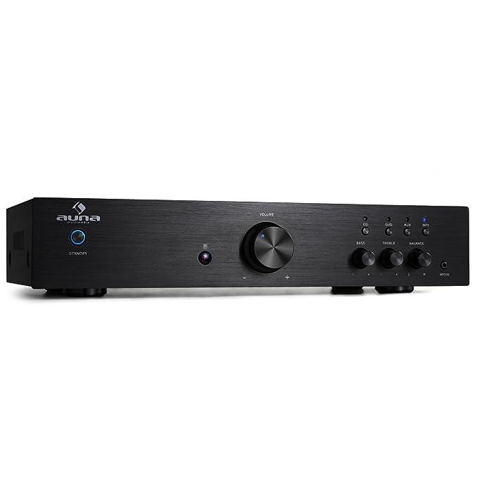 4 opinioni per Auna AV2-CD508 • HiFi • Home Cinema • Amplificatore Stereo • Potenza Massima 600
