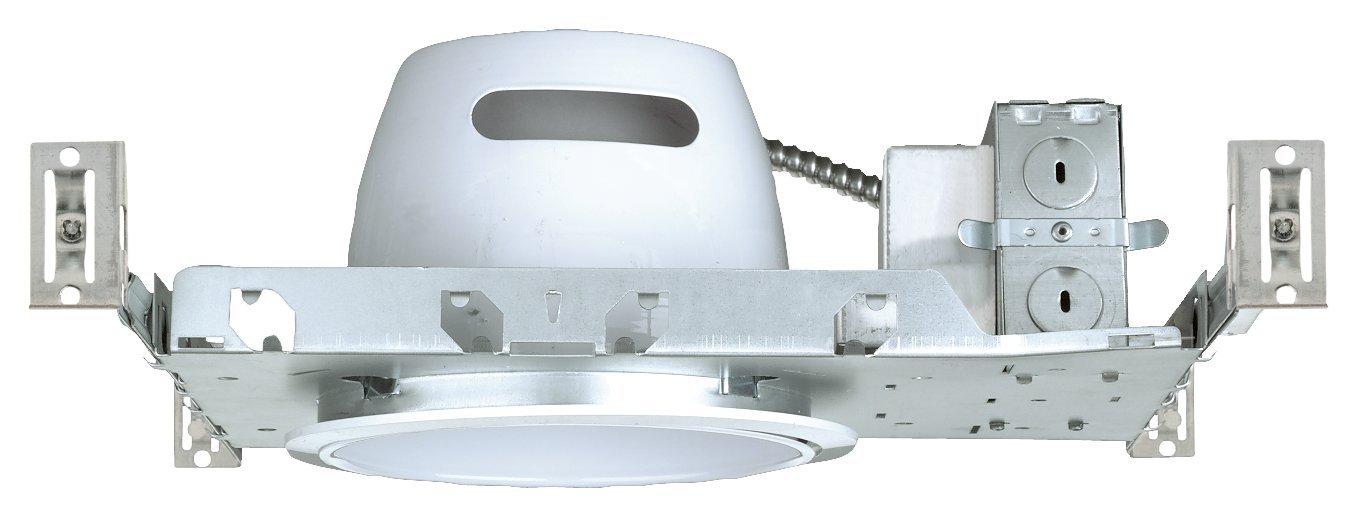 NICOR Lighting 6-Inch Non-IC Rated 26-Watt to 42-Watt Fluorescent Vertical Housing with Electronic Ballast (17010AEBM2642)