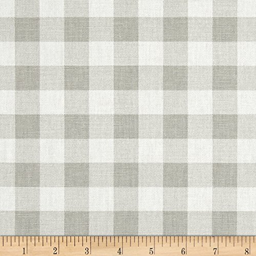 - Premier Prints 0427440 Plaid French Grey Twill Fabric by The Yard,