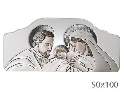Vetrineinrete® Quadro con sacra famiglia natività per capezzale ...