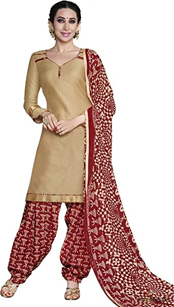 e1ec6dbf00 Vipul Branded Georgette Gold Salwar Suit Kameez Dress Material ( Holi Offers  & Discount Best Gift For Mom, Wife, Sister & Happy New Year Sale ):  Amazon.in: ...