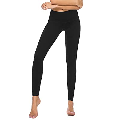 Crafeel High Waisted Yoga Pants Fitness Exercise Workout Running Yoga Leggings for Women Ladies