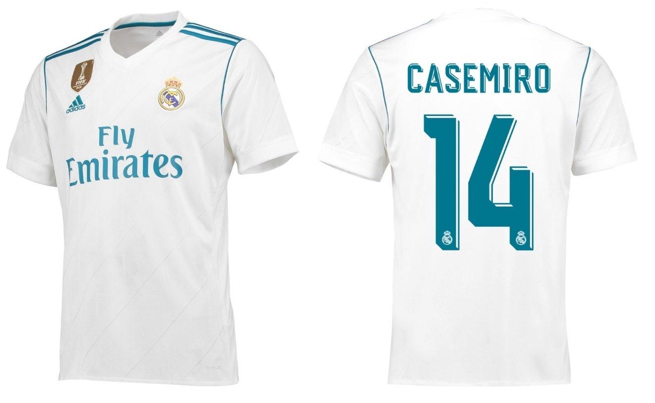 Trikot Kinder Real Madrid 2017-2018 Home WC - Casemiro 14