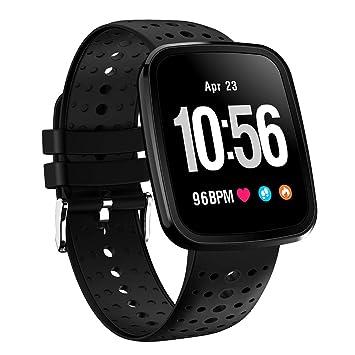 V6 Pulsera de Actividad Inteligente seguimiento Reloj de Digitales Hombre Mujer: Amazon.es: Deportes y aire libre