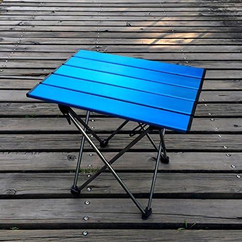 ShiXuan Mesa Plegable Plegable portátil Camping Barbacoa de ...