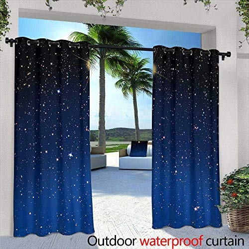 Outdoor- Free Standing Outdoor Privacy Curtain,Intensely colorful sunrise at Halona Cove, commonly known as Eternity Beach, on Oahu, Hawaii,W72