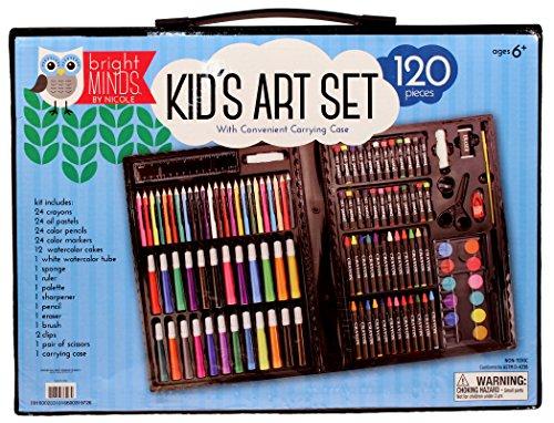 Nicole- 120pc Kid's Art Set