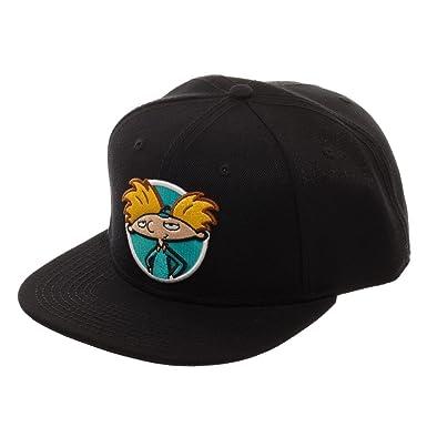 cffb47b5 Nickelodeon Rocko's Modern Life Arnold Rugrats Adjustable Baseball Cap  (Black)