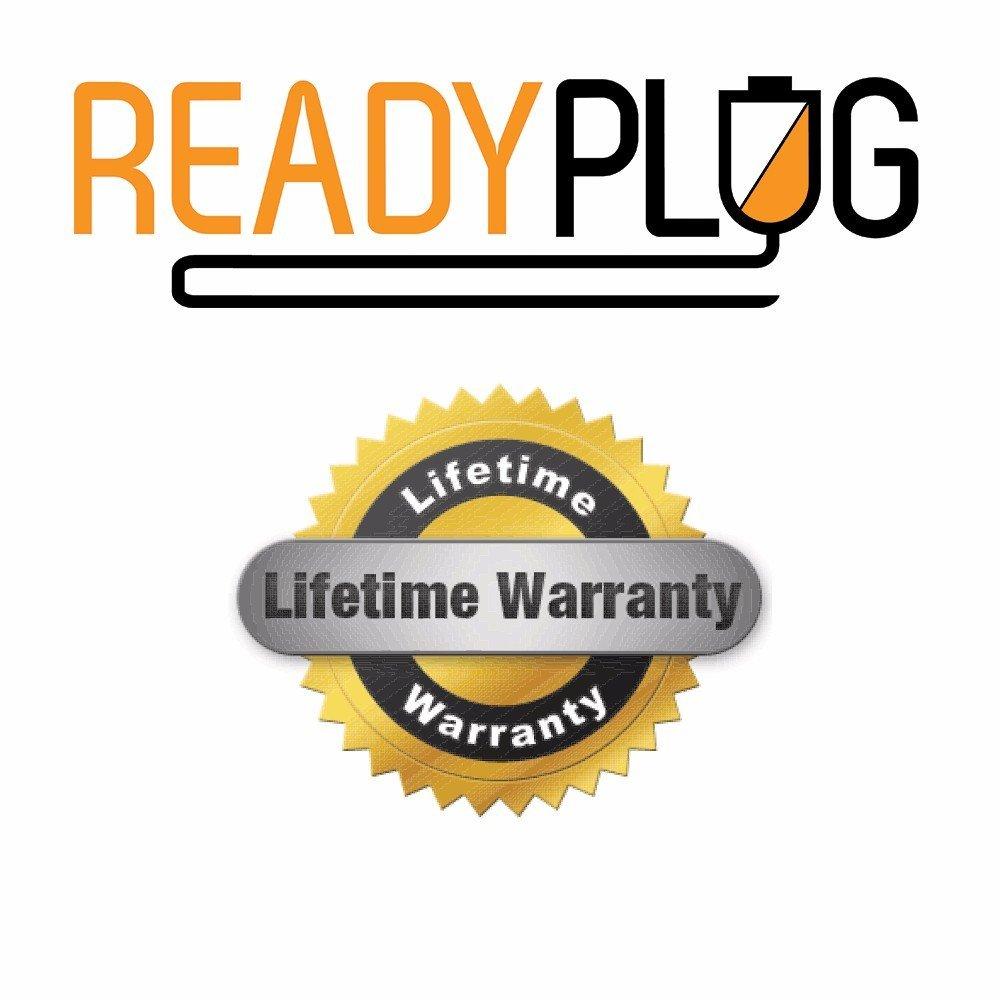 AC//DC Wall Adapter USB Port ReadyPlug USB Charger for Garmin GPSMAP 64st Black