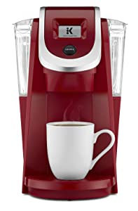 Keurig K250 Single Serve K-Cup Pod Coffee Maker with Strength Control Imperial Red Imperial Red