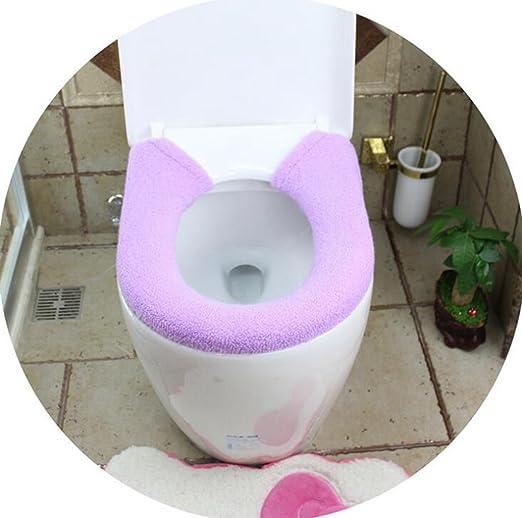 NuoEn El tipo de botón más grueso wc sentado cuff cojín ...