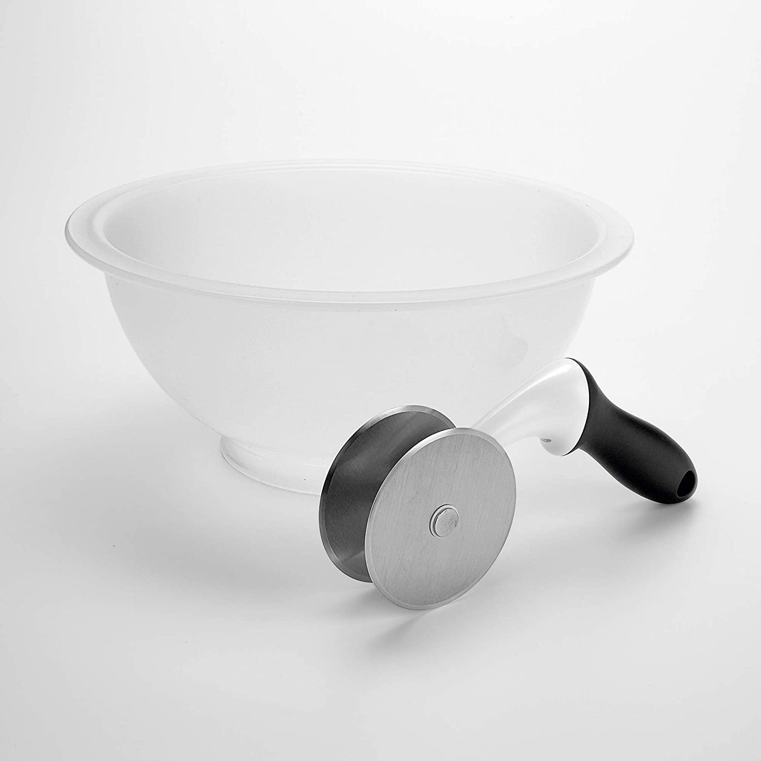 OXO Good Grips Salad Chopper & Bowl, 12.5 x 5.5 x 12.5 inches, White: Kitchen & Dining