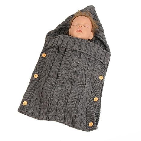 Baby Sacos de dormir, Franch entime recién nacido Baby punto – Manta saco de dormir