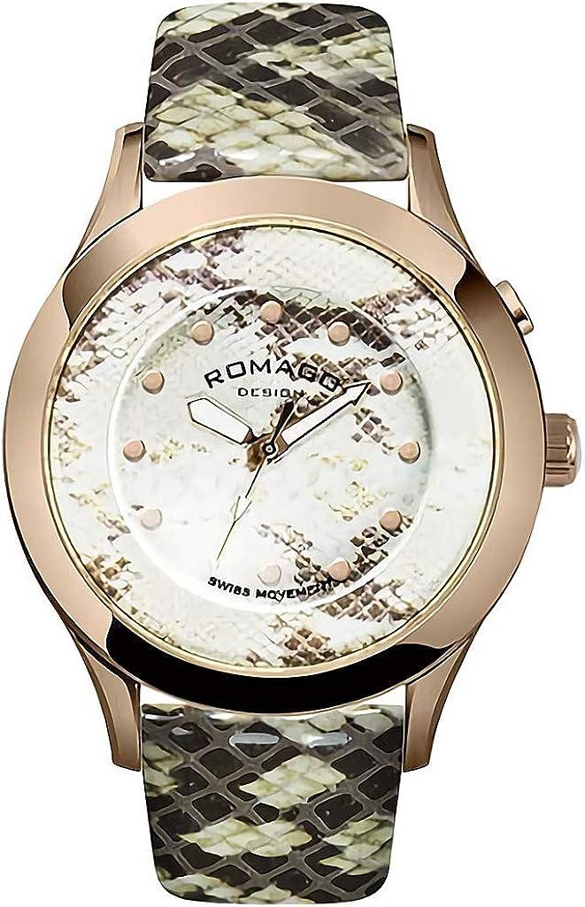 正規品 ROMAGO DESIGN腕時計 ロマゴデザイン RM047-0314ST-RG ヴァイブランシー Vibrancy メンズ腕時計 [並行輸入品]