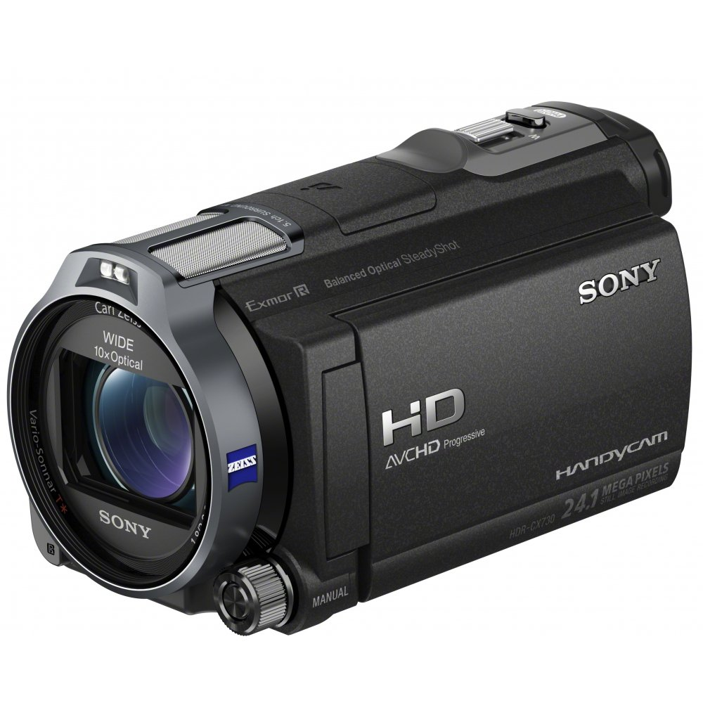 Sony CX730E - Videocámara (CMOS, 1/0,113 mm (1/2.88), 24,1 MP, 10x ...