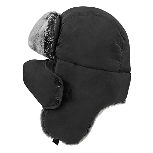 Unisex teens winter hats with ear flaps