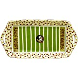 "16"" x 8"" Florida State University Ceramic Stadium Platter"