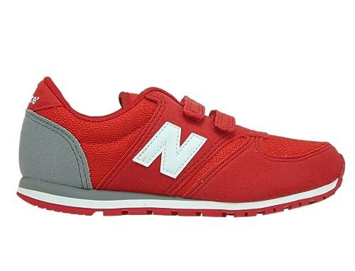 bf1b0a42f0c New Balance , Mädchen Sneaker rot rot / weiß: Amazon.de: Schuhe ...