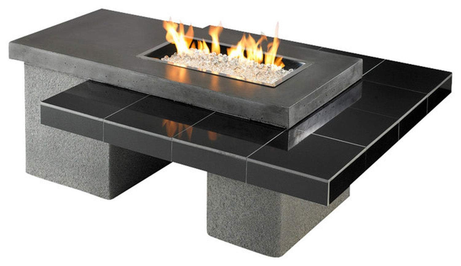 Outdoor GreatRoom Uptown Fire Pit - 60k BTUs by The Outdoor GreatRoom Company