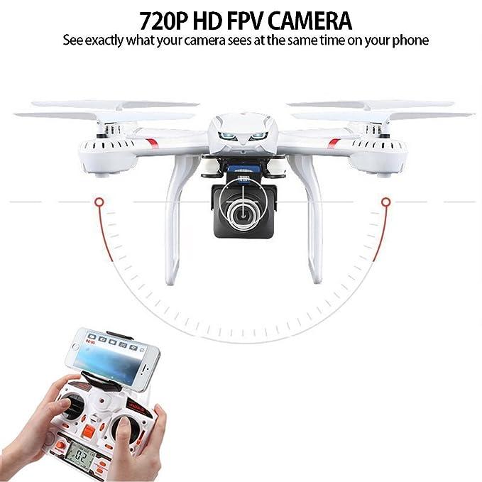 Ruyi Drone con cámara vídeo en directo HD720p RC FPV Quadcopter ...