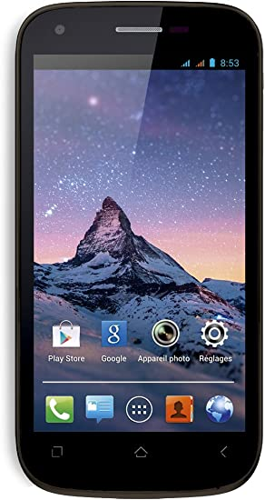 Wiko CINK PEAX 2 BLACK - Smartphone libre (pantalla 4.5
