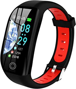SEPVER Fitness Tracker, Smart Watch for Android Phones iPhone Compatible, IP68 Waterproof Smartwatch with Heart Rate Monitor Step Counter Sleep Monitor Pedometer Fitness Watches for Women Men Kids