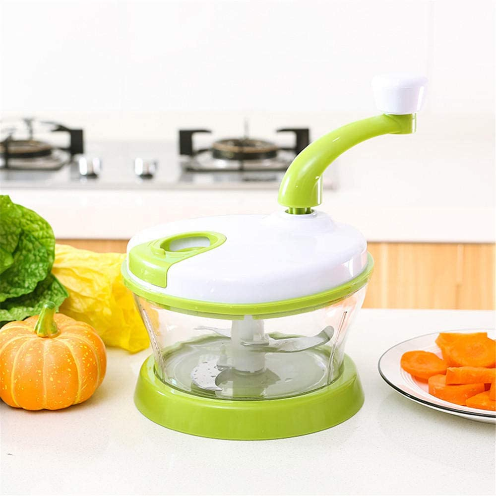 ddmlj Broyeur De L/égumes Multifonctionnel Coupe-L/égumes Manuel De Cuisine Domestique Hachoir /À Viande Manuel Robot Culinaire
