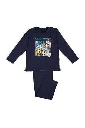 Disney - Pijama Para Niño, Color Marino, Talla 16: Amazon.es ...