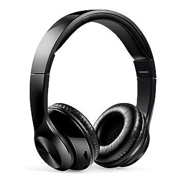 LINGYUN Auriculares Bluetooth inalámbricos con Radio FM ...