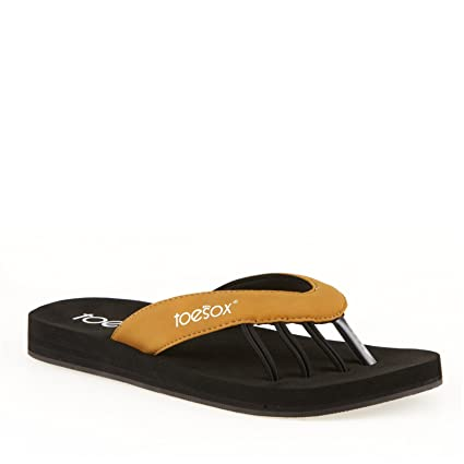 6186518c2fa6 Amazon.com   ToeSox New Yogini Five Toe Sandals