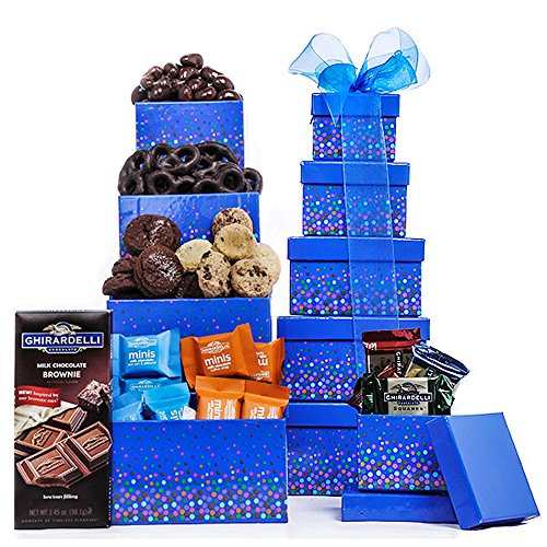 Large Ghiradelli Gift Tower