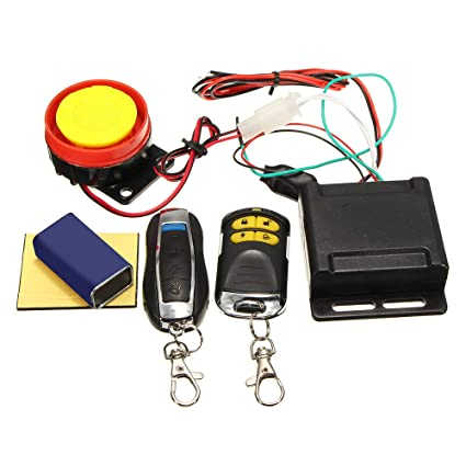 Asdomo - Sistema de Alarma Universal para Motocicleta, con ...