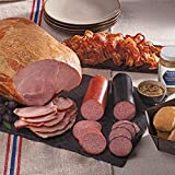 Gourmet Foods, Meats, Smoked Whole Bone-In Ham 3 lbs. Sliced Smoked Bacon 14 oz. Light-Smoked Summer Sausage 14 oz. Double-Smoked Summer Sausage 8.5 oz. German-Style Mustard