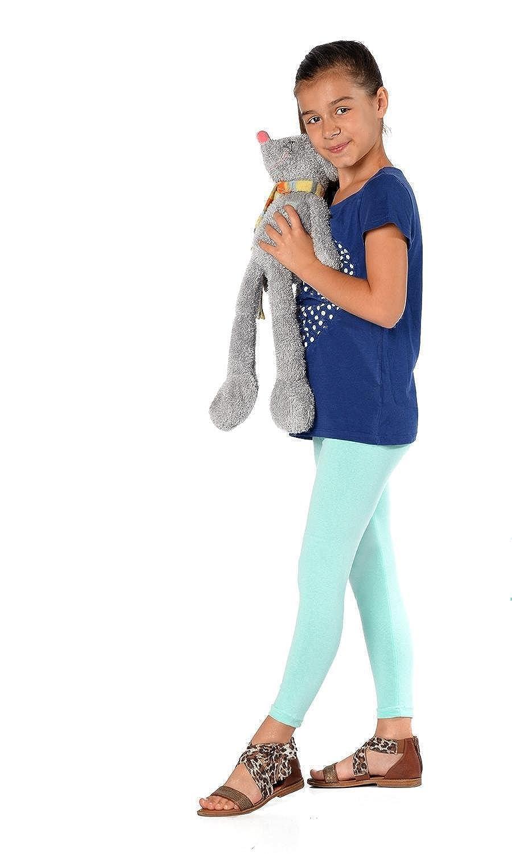 eloModa - Leggings - jegging - para niña Menta Verde 3 años