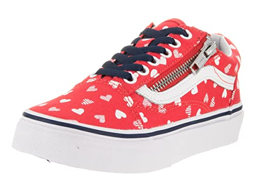 Vans Old Skool Zip Youth Round Toe lienzo negro zapatillas: Amazon.es: Zapatos y complementos