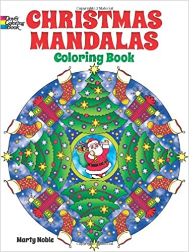 christmas mandalas coloring book dover design coloring books marty noble 9780486492124 amazoncom books