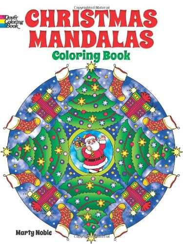 christmas mandalas coloring book dover design coloring books marty noble 9780486492124 amazoncom books - Christmas Mandalas Coloring Book