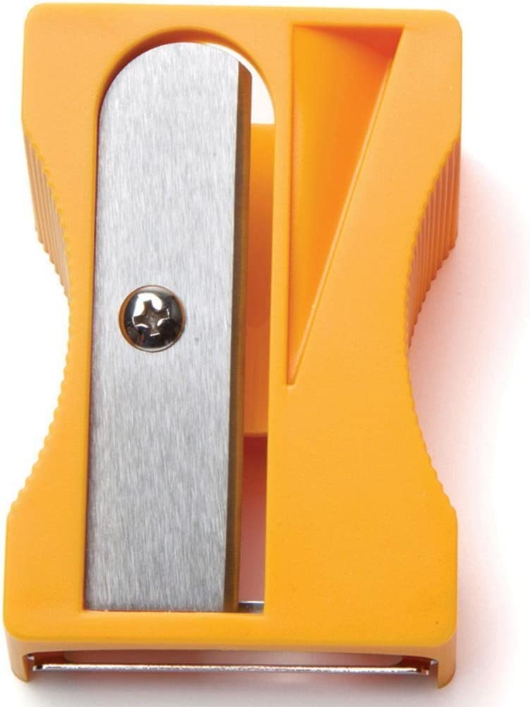 Karoto Vegetable Peeler, Curler, Spiral Ribbon Cutter and Shaver for Carrot, Zucchini, Cucumber, Potatoes, By Monkey Business - Yellow
