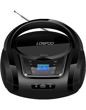 Radio casetes portátiles   Amazon.es