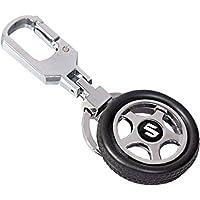 EASY4BUY Spinning Tyre Rotary Wheel Locking Metal Keychain/Keyring/Key Ring/Key Chain Maruti Suzuki