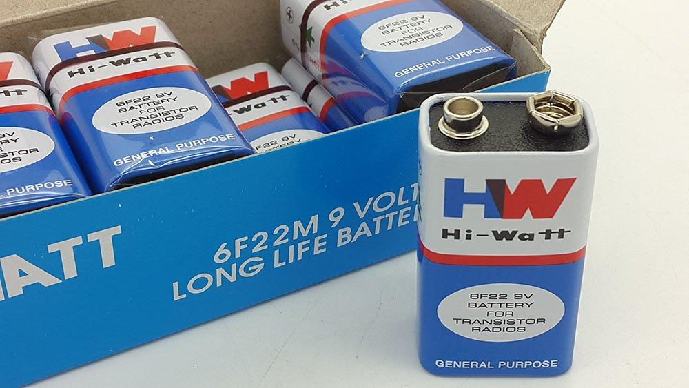 Hi-Watt 9v Battery (Set of 10): Amazon.in: Industrial & Scientific